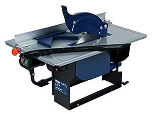FERM TSM1032 Scie à table 800W 200mm - Incl. 1 lame et adaptateur aspirateur