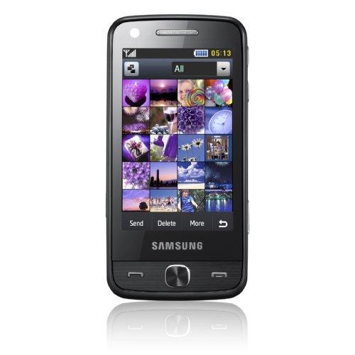 Samsung Pixon12 M8910 Handy (12 Megapixel, AMOLED-Fulltouchscreen, WLAN, HSDPA/HSUPA) midnight-black
