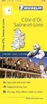 Cote-D'Or/Saone-et-Loire (Michelin Local Maps)