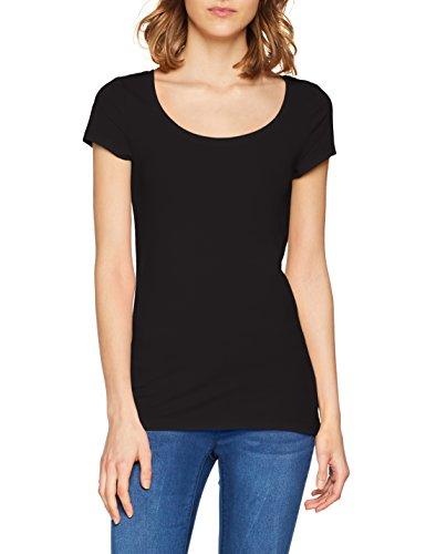 Q/S designed by - s.Oliver Damen T-Shirt 45.899.32.0472, Schwarz (Black 9999), Medium