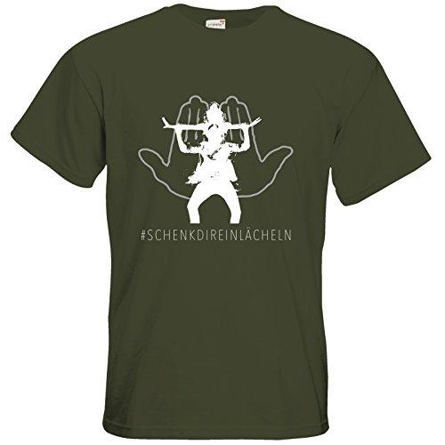 getshirts - Station B3.1 - T-Shirt - Lets dance Motiv - nur noch kurze Zeit im Shop Khaki