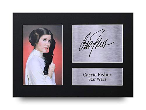 Leia Von Star Wars - HWC Trading Carrie Fisher Geschenke Unterzeichneten