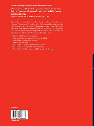 Topics in Experimental Dynamics Substructuring and Wind Turbine Dynamics, Volume 2: Proceedings of the 30th IMAC, A Conference on Structural Dynamics, ... Society for Experimental Mechanics Series)