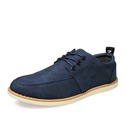 Scarpe casual di semplice moda estate business/Scarpe basse uomo/UK guida scarpe uomo selvaggio Blu