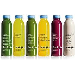 Frank Juice Detox, 1 Tag Saftkur (Anfänger), Starter Cleanse