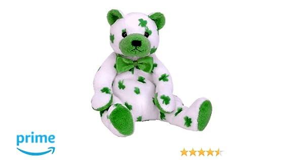 5e992507f66 TY Clover the Bear Beanie Baby  Amazon.co.uk  Toys   Games