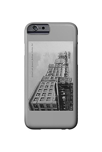 Stockton, California - Exterior View of the Hubbard and Yosemite Buildings (iPhone 6 Cell Phone Case, Slim Barely There)