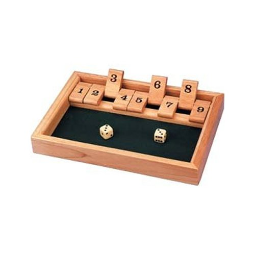 Tobar Shut The Box Puzzle