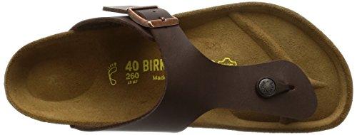 Birkenstock Classic Ramses Birko-Flor Unisex-Erwachsene Zehentrenner Braun (Braun)