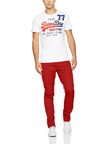 Pantalon Superdry Rookie Rosso Rot