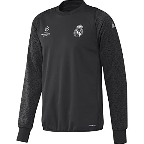 adidas Real Madrid Sweatshirt Real Madrid C.F. pour Homme, gris (carbon) L