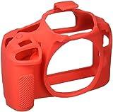 easyCover by Bilora silicone custodia protettiva Per Canon 1300d Rosso/Nero