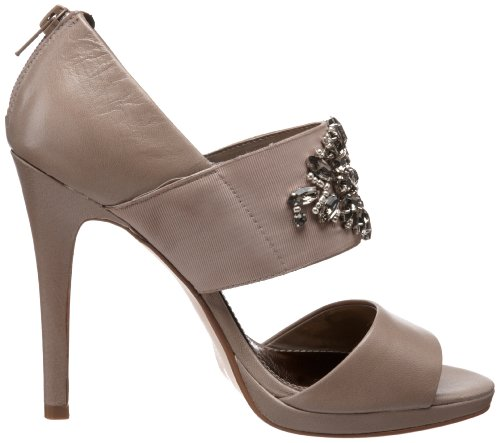 Chinese Laundry Icey Damen Offener Spitze Leder Open Toe Pumps Light Taupe RINBr1s