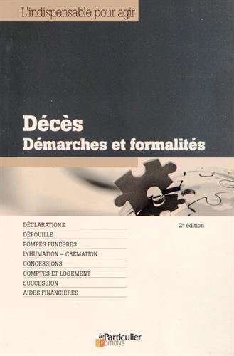 Décès - Démarches et formalités