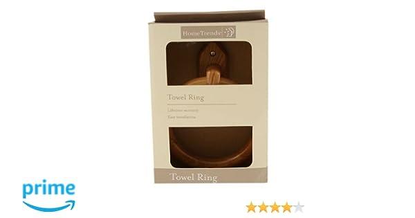 Porta Asciugamani Da Bagno In Legno : Ardisle legno di bambù porta asciugamani da parete in legno