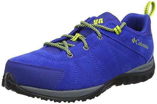 Columbia Scarpe da Ragazzo per Camminata e per Escursioni, YOUTH VENTURE, Blu (Azul, Zour), Misura: 38