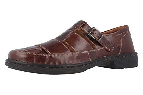 JOSEF SEIBEL - Bradfjord 36 - Herren Sandalen - Braun Schuhe in Übergrößen, Größe:48