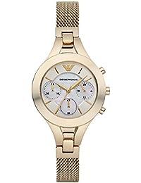 Armani Reloj de pulsera AR7390 Color dorado Mujer
