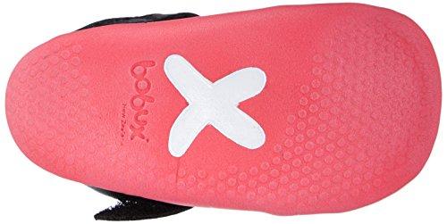 Bobux 460785 Mädchen Sneakers Pink (schwarz/pink)