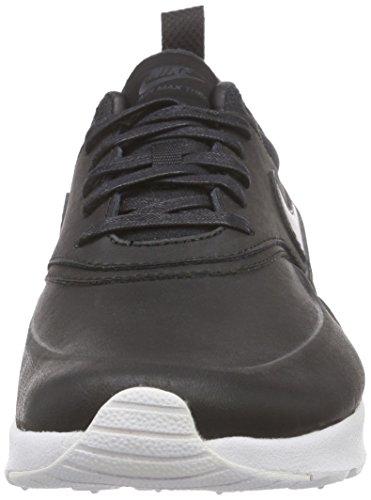 Nike Damen Air Max Thea Premium Sneakers Schwarz (007 BLACK/BLACK-ANTHRACITE-WHITE)