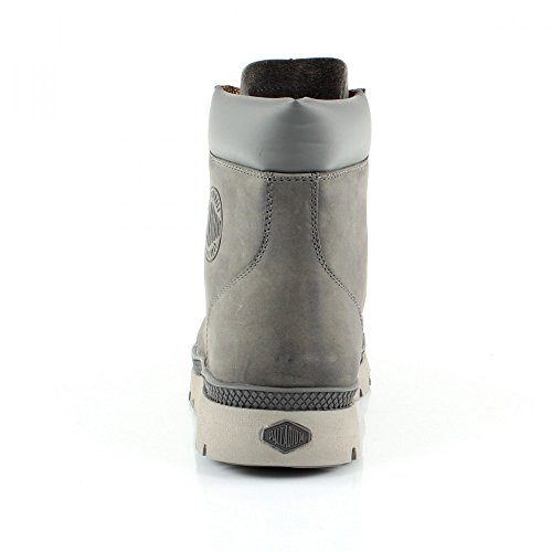 Palladium Bitumen Backway Clp, Bottines à doublure homme Gris - Grey (Dk Grey)