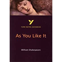 As You Like It: York Notes Advanced.