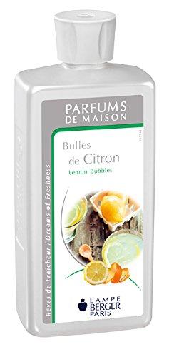 Lampe Berger 115136 Parfum de Maison Bulles de Citron 500 ml