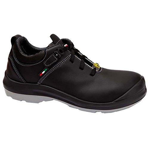 Giasco Halbschuh Sydney S3, Größe 45, 1 Stück, schwarz, 33L74C45 -