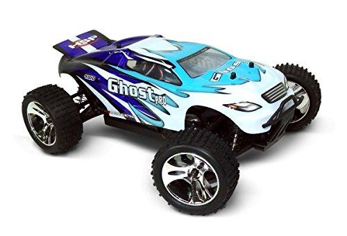 Preisvergleich Produktbild Ferngesteuertes Auto RC Truggy HSP Ghost Brushless 4WD - 1:18 2,4Ghz Tuning