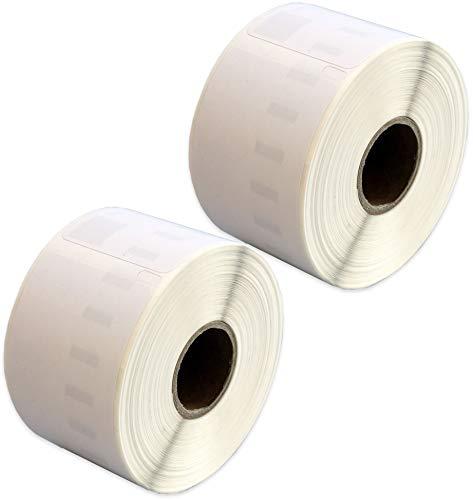 Printing Saver 5x 99017 50 x 12 mm Compatibili Rotoli Etichette adesive per Dymo LabelWriter 310 320 330 4XL 400 450 Turbo//Twin Turbo//Duo /& Seiko SLP etichettatrici 220 Etichette//Rotolo