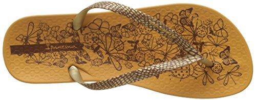 Ipanema - Anat. Nature Fem, Infradito Donna Jaune (Yellow/Gold)