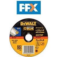 Dewalt DT42320 Metal Grinding 125 mm x 6 mm x 22.2 mm T27 Abrasive Disc Depressed Centre