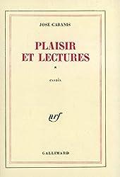Plaisir et lectures (Tome 1)