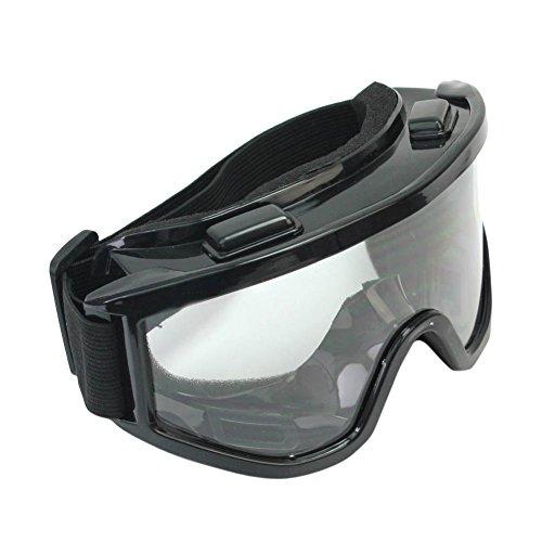 Pinzhi Motorrad Radfahren Klar Motocross Winddicht Schwarz Schutzbrille Brille