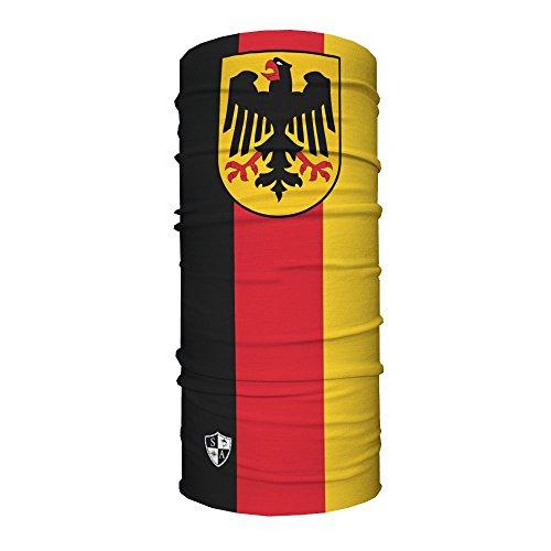 Sa Company USA Face Shield Halstuch Bandana Gesichts- Maske Mütze Multifunktionstuch, Face Shields:Deutschland Flagge