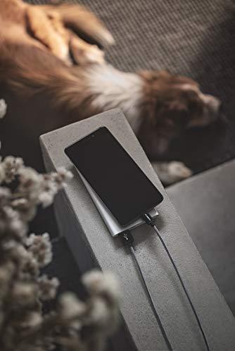 Micro USB Ladekabel CABBRIX® Schwarz [2-Pack] 1,5m Lang [USB Schnellladekabel] Nylon 2,4A Sync Android Smartphones für Samsung Galaxy S7 S6 Edge S5 S4 HTC LG Sony Nexus Nokia Huawei Kindle XBOX PS4
