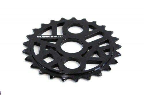 Blank BMX Kettenblatt WTF 25T -schwarz-