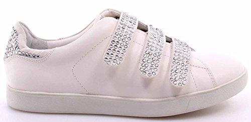Liu Jo Sneaker Femmes Running Aura Con Velcri Strass Cuir