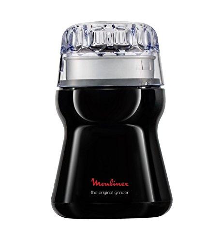 Moulinex AR1108 Macinacaffè 180 W Acciaio Inossidabile Nero