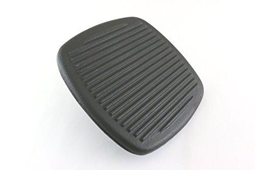 Gusseisen Grill/Bacon Press quadratische Form 1,9kg Gewicht D 21cm x h 6cm