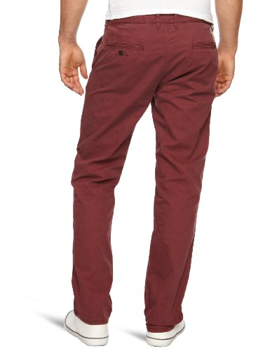 Hilfiger Denim Herren Hose/ Lang  1957804615 / Sasha SP12 FT Rot (220 RED MAHOGANY)