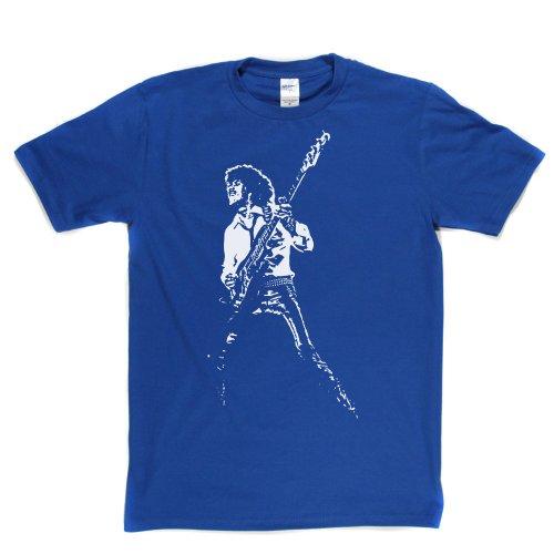 Uncleberts Herren T-Shirt Gr. Small, Blau - Königsblau Gorham Grande