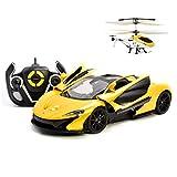 AIOJY Combinaison de combinaison d'interaction de charge de voiture de contrôle à distance d'hélicoptère de véhicules de jouets RC Cars Cadeaux de Noël for les enfants 1/14 Véhicule à commande électri