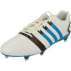adidas FF80 Pro X-TRX SG II, Chaussures de Rugby pour Homme Blanc Cassé Blanco - Blanc Cassé - Blanco - Blanco, 50.5 EU EU