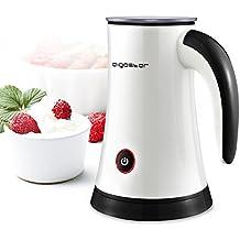 Aigostar MissPuff 30KDF – Espumador de leche eléctrico, 450W, 200 ml, accesorios incluidos