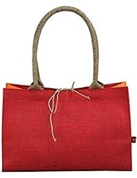 SUHANA jute canvas handbag bag