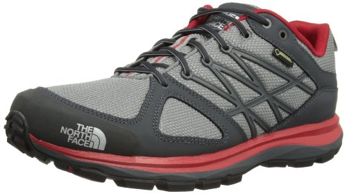 The North Face Litewave Gtx - Zapatillas de montaña, color Griffin Grey/Red,...