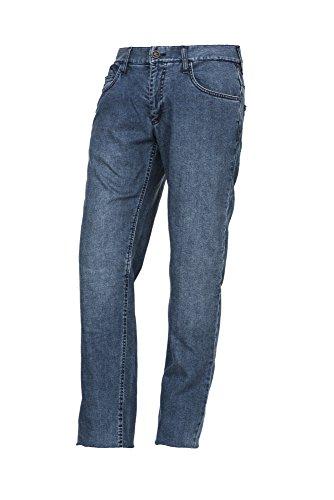 Esquad Motorrad Jeans, Smokey Blue, Größe 28