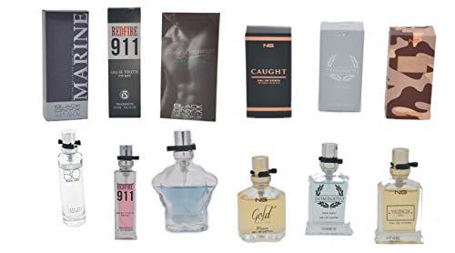 Trend Düfte: Set X 6 (sechs) Parfüm für Herren 15 ML jedes einzeln in Box Zerstäuber Spray