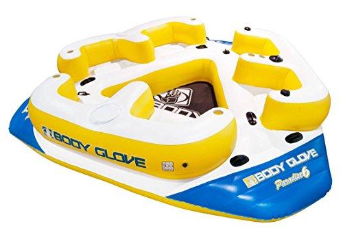 Body Glove Paradise 6 Inflatable Aqua Lounge - Badeinsel für 6 Personen